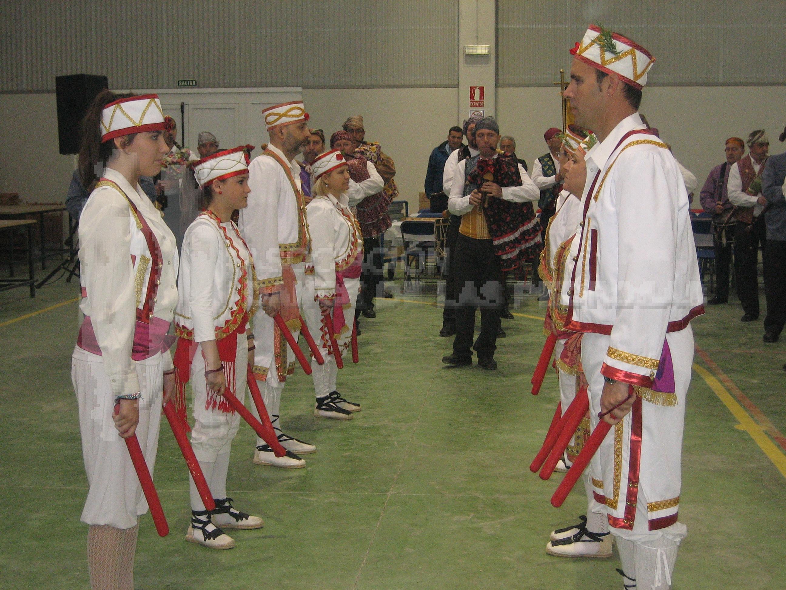 Danzantes de Las Pedrosas en Castejón de Valdejasa