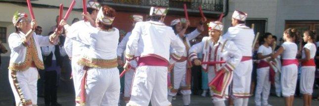 Detalle de las mudanzas o paloteado del Dance de Las Pedrosas