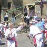 Detalle del trenzado de cintas del Dance de Las Pedrosas